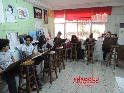 Anadolu Güzel Sanatlar Liselerine Hazırlık Kursları İzmir