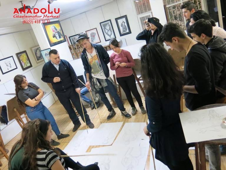 Güzel Sanatlar Fakülteleri İçin Yetenek Kursları Adana