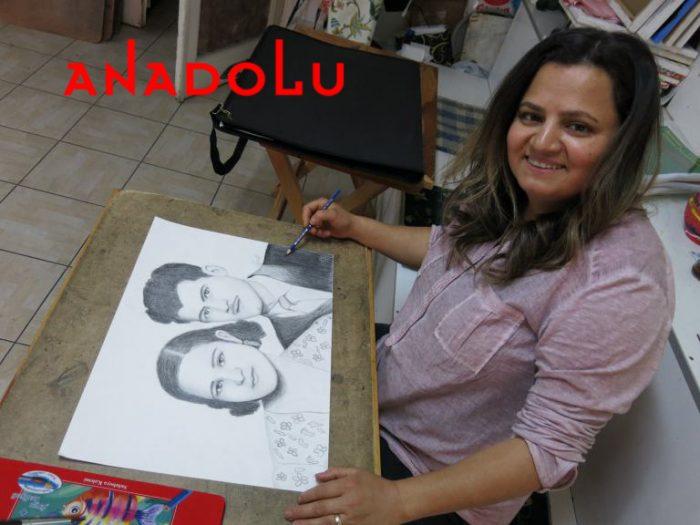 Karakalem Potre Çalışmaları Hobi Grupları Adana