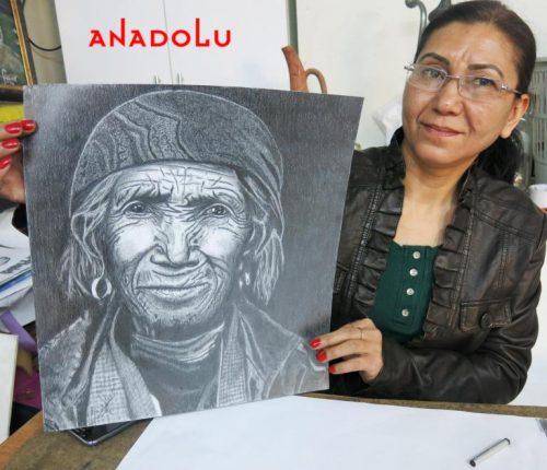 Hobi Karakalem Çizimi Adana